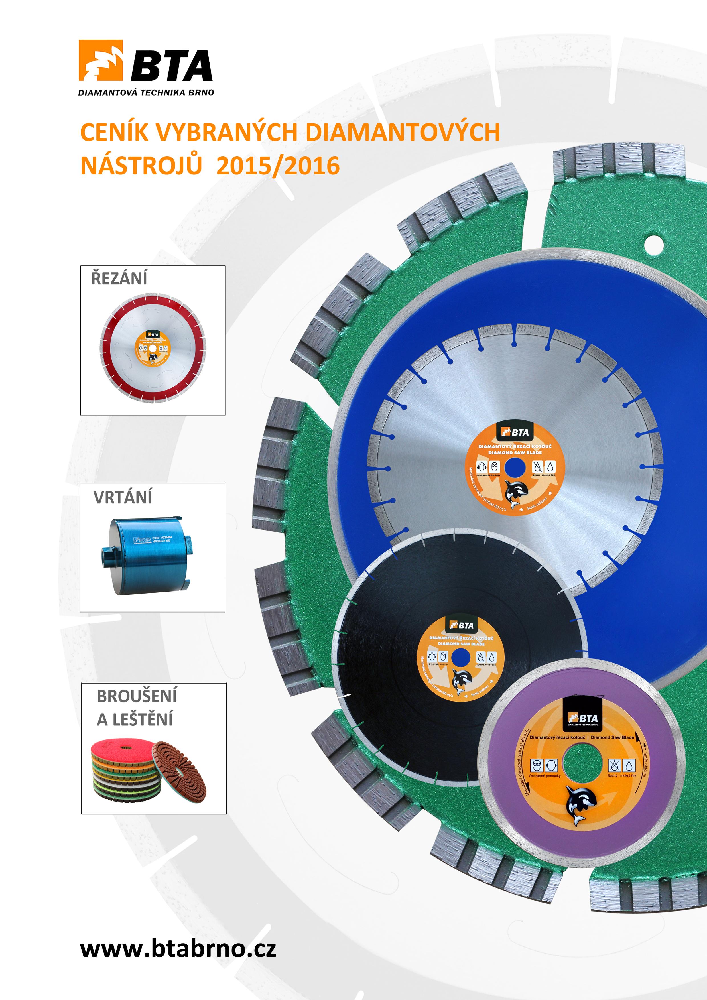 Katalog BTA 2015